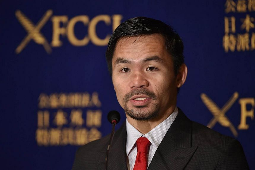 Boxing star Manny Pacquiao is in talks with his American promoter on whether to fight Australian Jeff Horn.