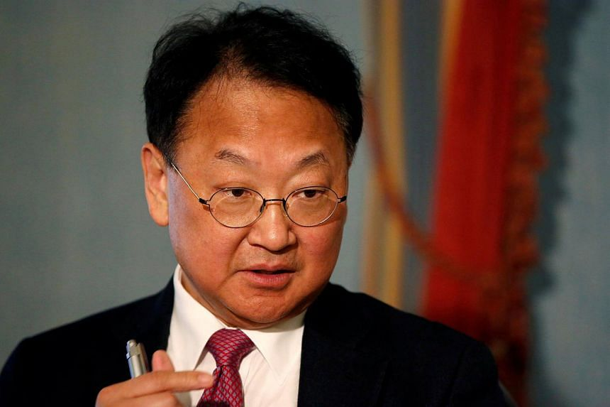 """South Korea's Finance Minister Yoo Il-ho said a bigger risk to the economy was the """"uncertainty from abroad""""."""