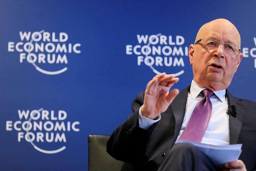 World Economic Forum founder Klaus Schwab stressed that globalised trade was not the sole culprit.