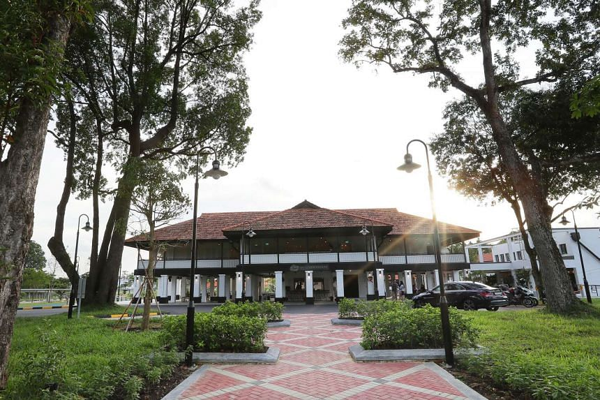 The 320ha space comprises the Seletar Airport, as well as 32 colonial black and white bungalows that once housed families of the Royal Air Force.