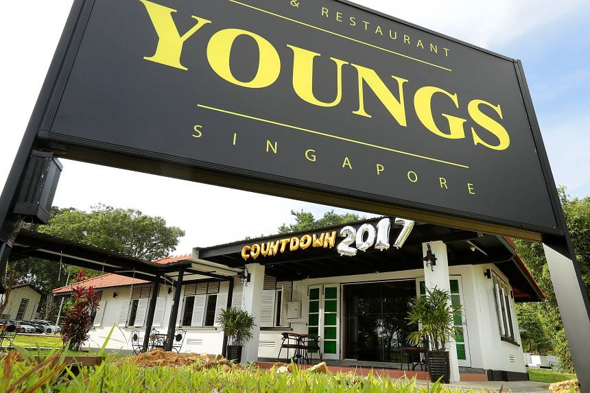 YOUNGS Restaurant and Bar at 3 Hyde Park Gate.