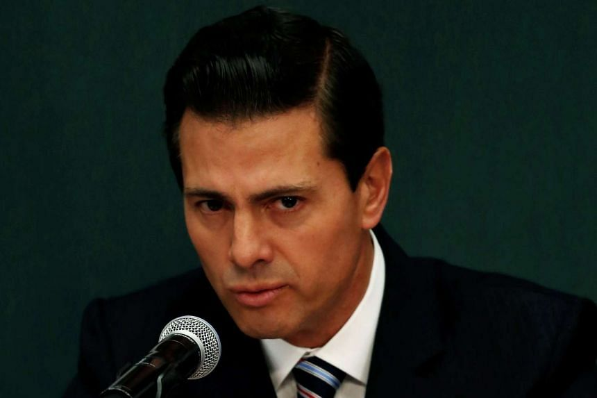 Mexico's President Enrique Pena Nieto on Wednesday (Jan 11) again rejected Donald Trump's demand that Mexico pay for a wall along the border.