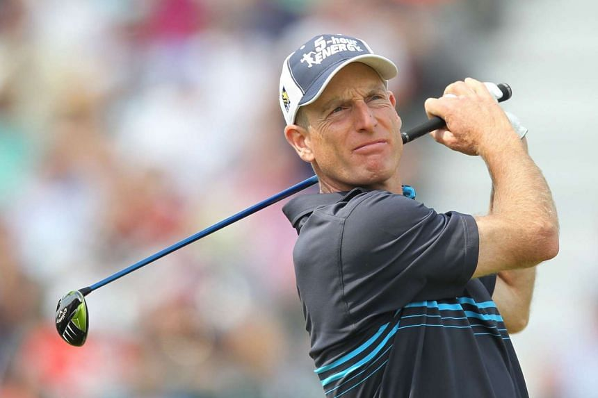 Jim Furyk (above) will captain the US Ryder Cup team in 2018 at Le Golf National near Paris.