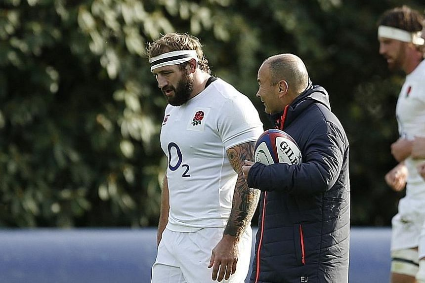 Coach Eddie Jones needs to reshuffle his pack following a growing number of injuries. Loosehead Joe Marler has been ruled out for four to five weeks.