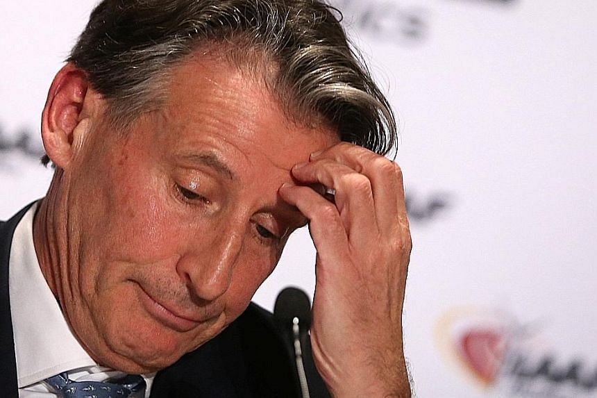 IAAF president Sebastian Coe insists he first knew about the Russian corruption scandal in December 2014, when he watched a documentary.