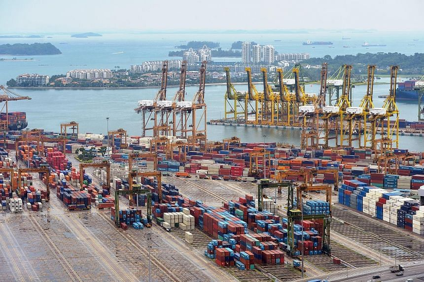 The number of container boxes handled this year is expected to get a lift from CMA CGM's use of four container berths in Pasir Panjang.