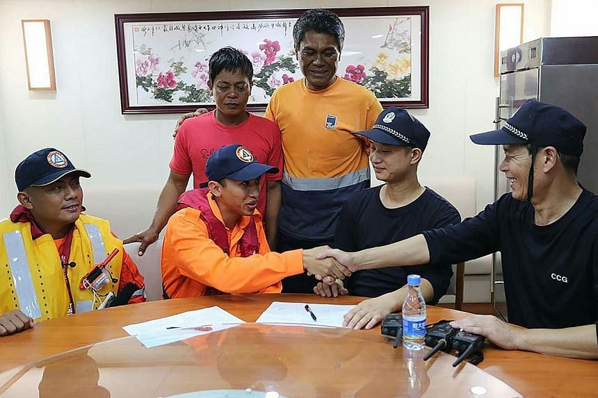 The Philippine and Chinese coast guards agreed at a meeting last month to step up maritime cooperation.