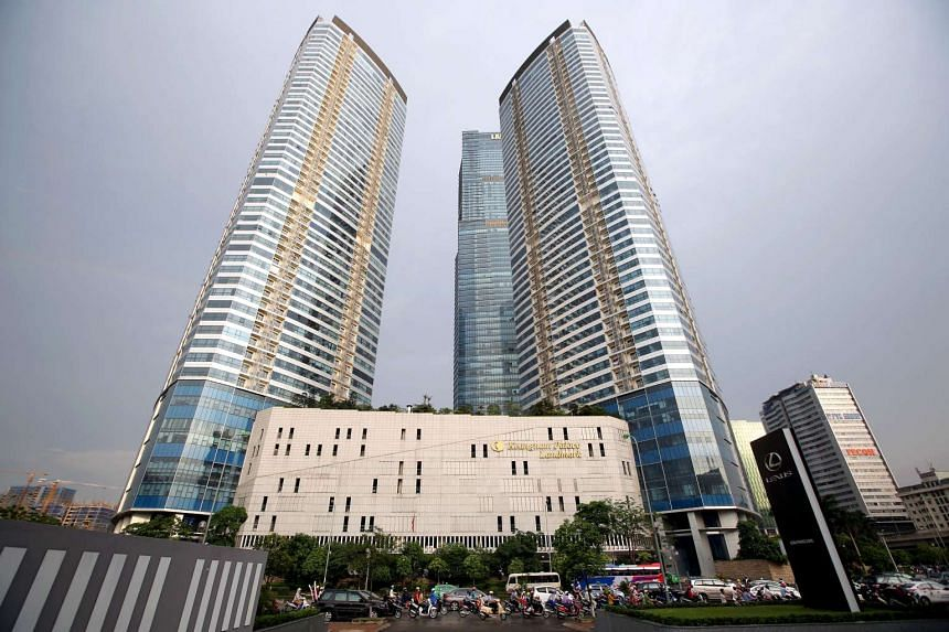 The US$1 billion Landmark 72 is the tallest building in Vietnam.