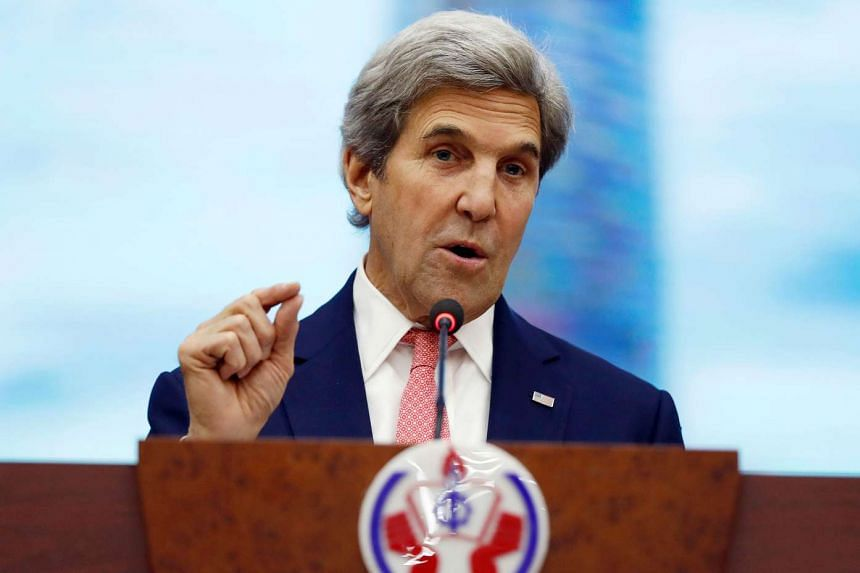 John Kerry is in Vietnam on the start of his swansong tour as US Secretary of State.