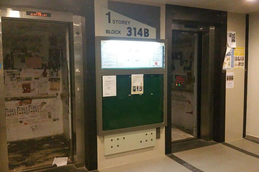 The lifts at Blocks 314A and 314B at Waterway Cascadia broke down at around 5pm on Tuesday.