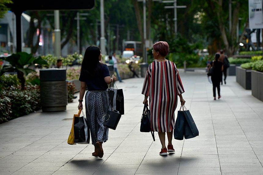 Retail sales in Singapore edged up 1.1 per cent in November from the previous year.