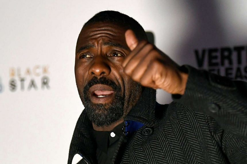 """Actor Idris Elba has offered fans a chance to """"pound my yams"""" during a date with him to raise money for an African charity."""