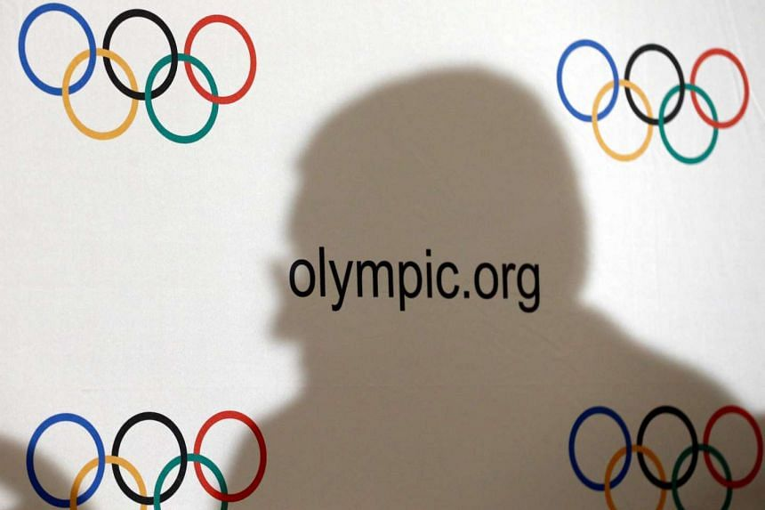 International Olympic Committee (IOC) President Thomas Bach casts a shadow during a news conference after an Executive Board meeting in Lausanne, Switzerland, on Dec 8, 2016.