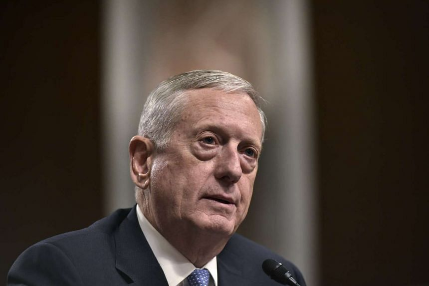 Retired Marine Corps general James Mattis testifies before the Senate Armed Services Committee on his nomination to be the next secretary of defense in the Dirksen Senate Office Building on Capitol Hill in Washington, DC on Jan 12, 2017.