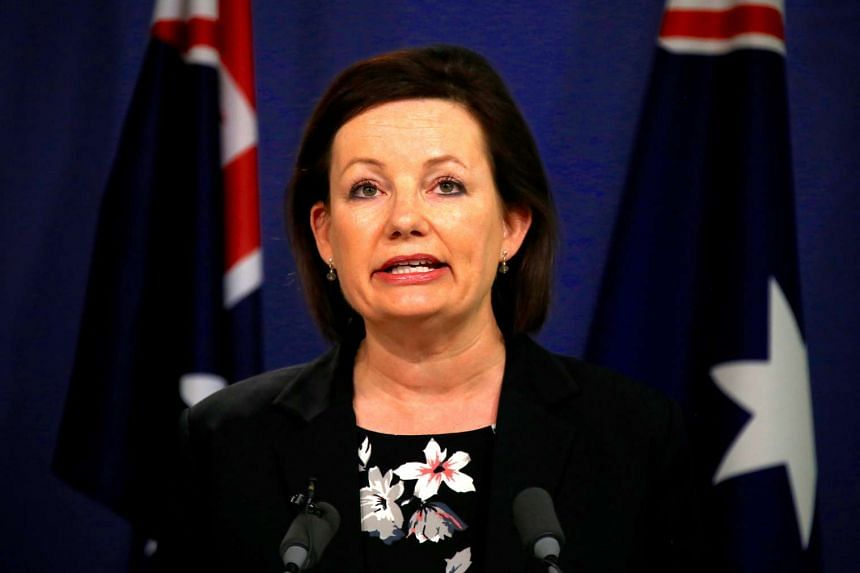 Sussan Ley, Australia's Minister for Sport, speaks during a media conference in Sydney, Australia on July 25, 2016.