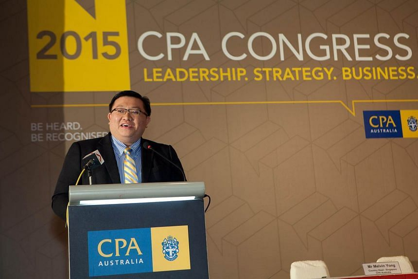 Mr Kenneth Yap, CEO of the Accounting and Corporate Regulatory Authority (Acra), at the CPA Congress on Oct 14, 2015.