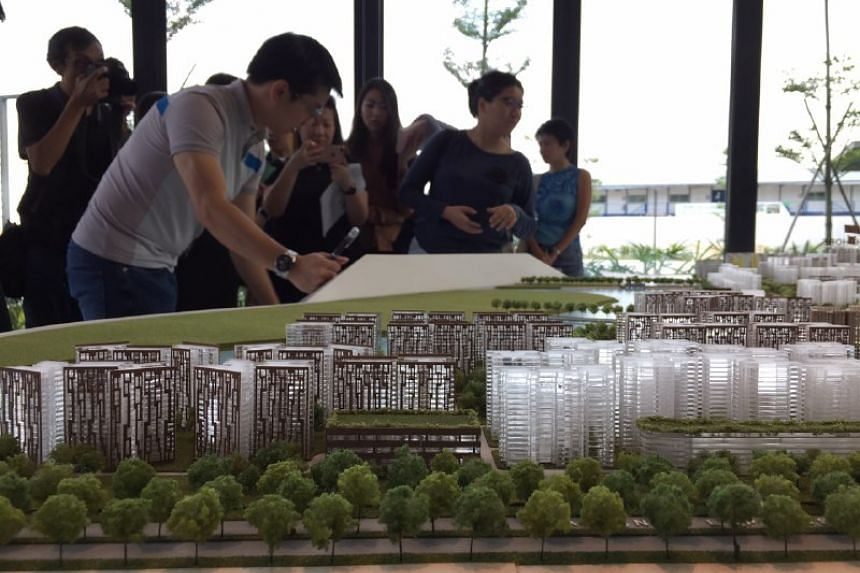 The ground floor features an interactive model of the town, including upcoming projects.