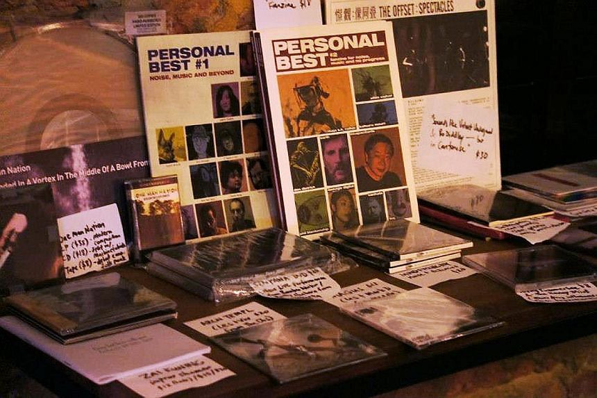 The pop-up store will sell records from Singapore's underground music scene.