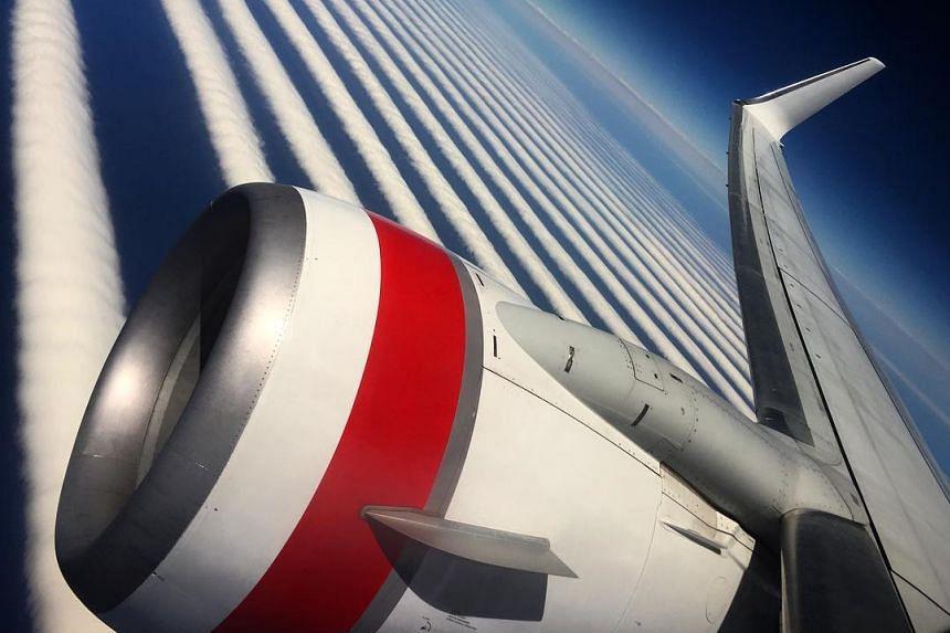 Passenger Ilya Katsman saw the phenomenon on a Virgin Australia flight from Perth to Adelaide.