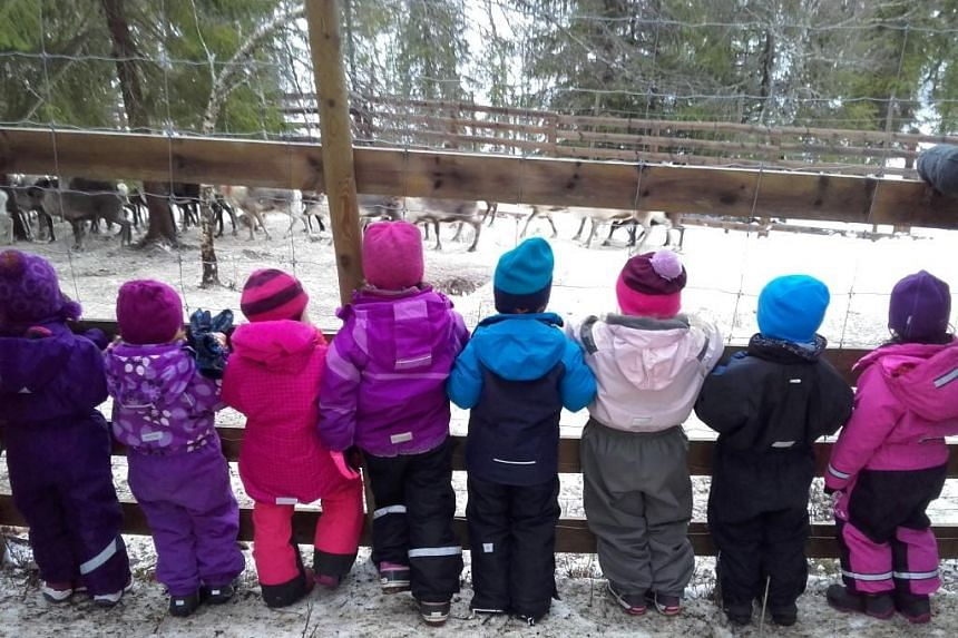 A school trip for a group of five-year-old children to a reindeer slaughterhouse in Norway has provoked outrage locally and elsewhere.