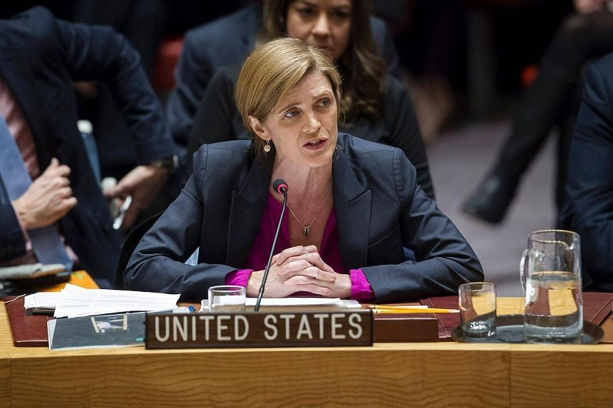 US Permanent Representative to the UN Samantha Power, addressing the Council after the Dec 23 vote on Israeli settlements.