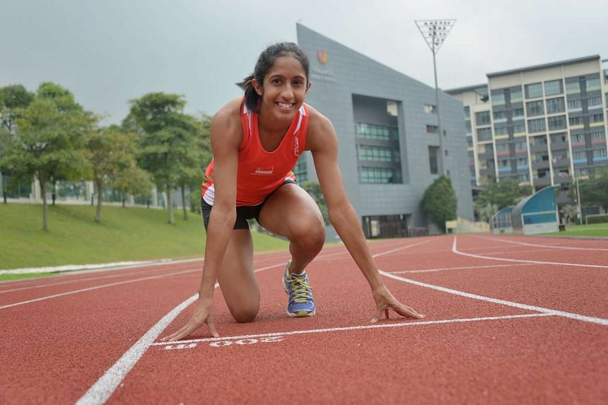 Singaporean sprinter Shanti Pereira has qualified for the SEA Games with a time of 11.85 seconds in the 100m at the Potts Classic in New Zealand on Jan 14, 2017.