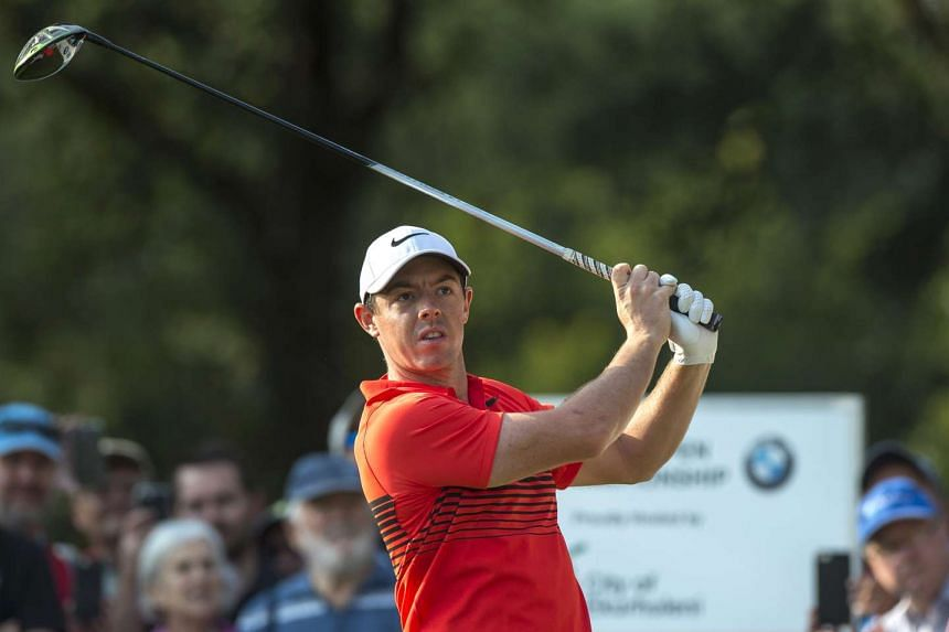 McIlroy in action at the South African Open on Jan 12, 2017, in Johannesburg.