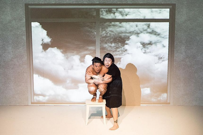Rizman Putra and Patricia Toh in Under My Skin.