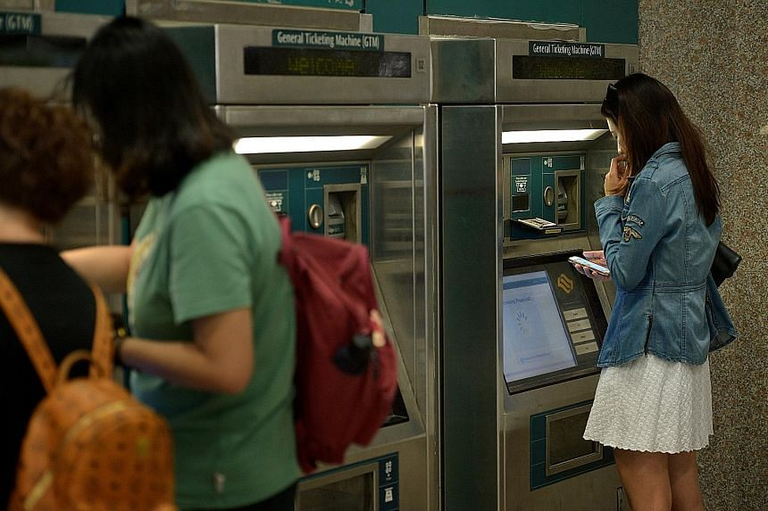 Cardholders can use any of the general ticketing machines at MRT stations to reapply for the auto top-up service on their new cards. They would also need to have the service terminated on their old cards.