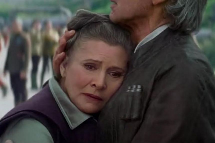 In July, Star Wars: Episode VIII wrapped up shooting with Fisher reprising her role as General Leia Organa.