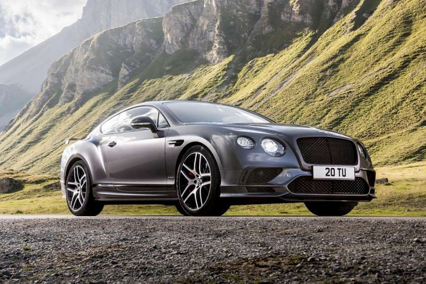 Bentley's latest Continental Supersports