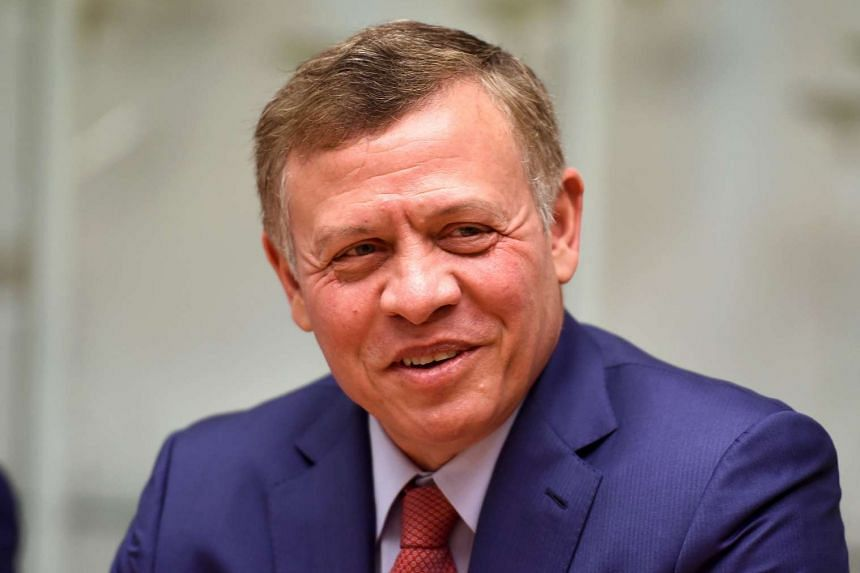 Jordan's King Abdullah swore in a new government on Sunday (Jan 15).