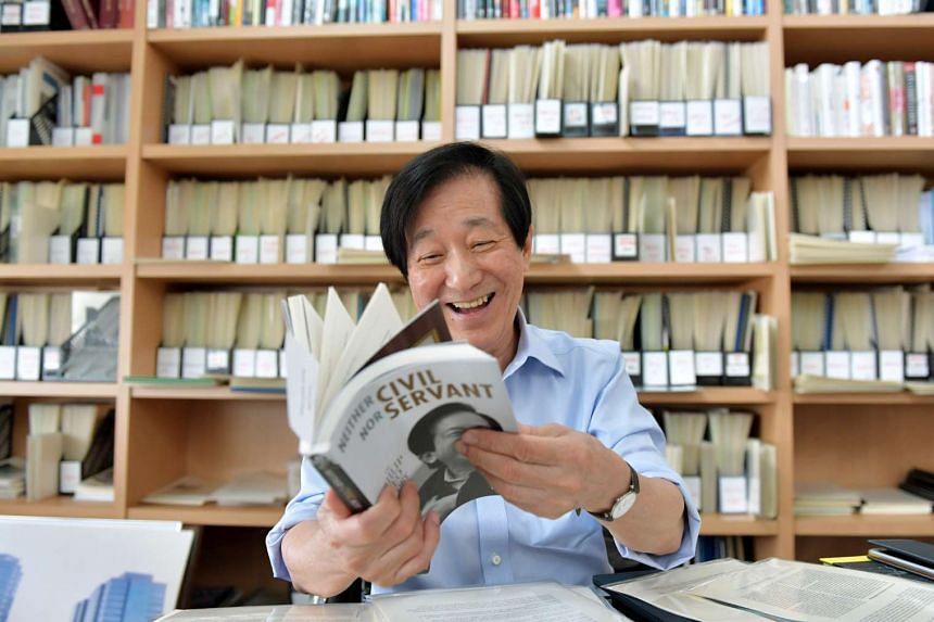 Former senior bureaucrat Philip Yeo's biography Neither Civil Nor Servant helped raise more than half a million dollars for charity.