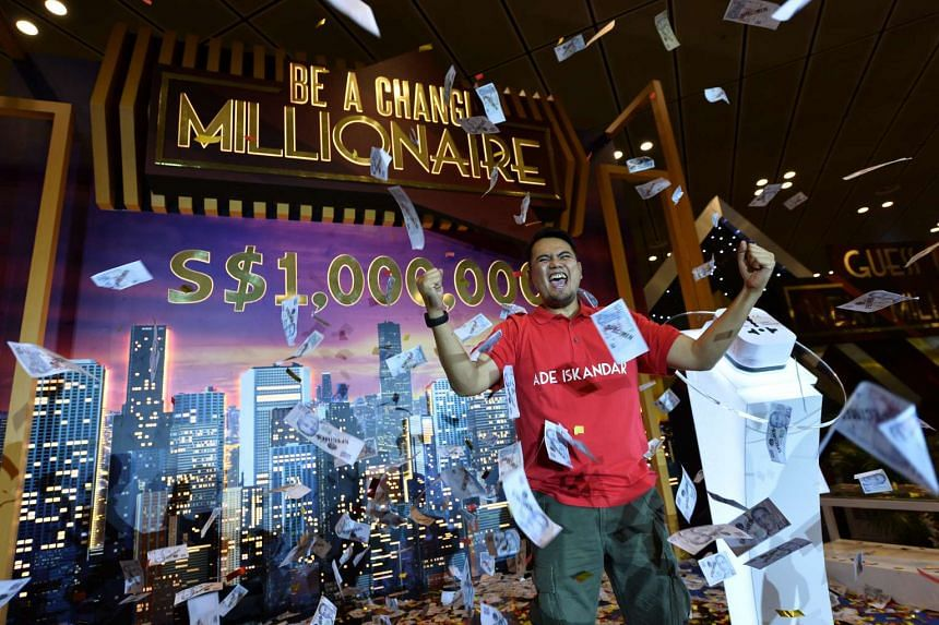 Changi Airport crowns Indonesian Ade Iskandar Roni its seventh Changi Millionaire.