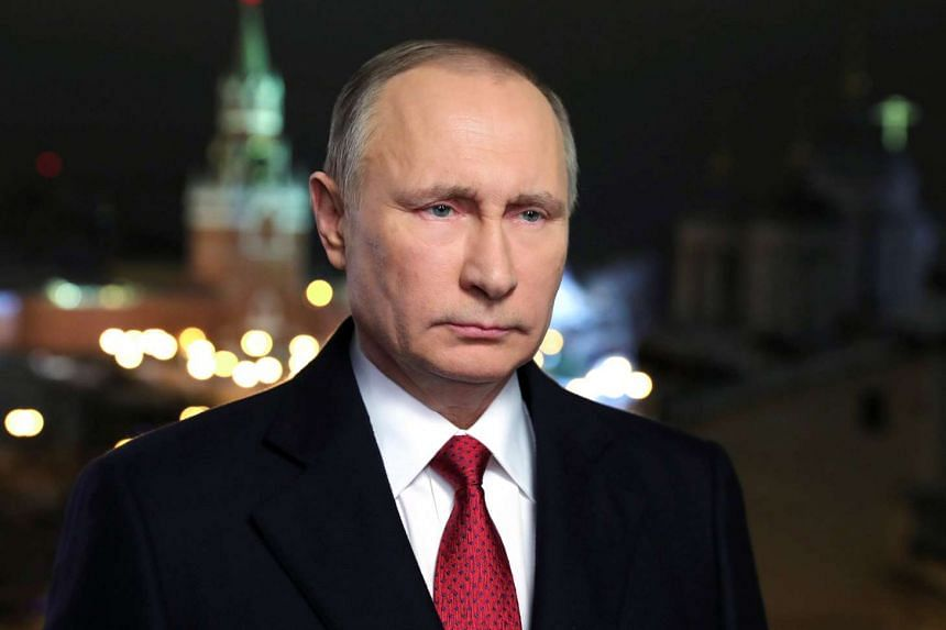 US intelligence agencies have accused Russian President Vladimir Putin (above) of ordering a cyber campaign aimed at boosting Donald Trump's electoral chances in the 2016 elections by discrediting his Democrat rival Hillary Clinton.