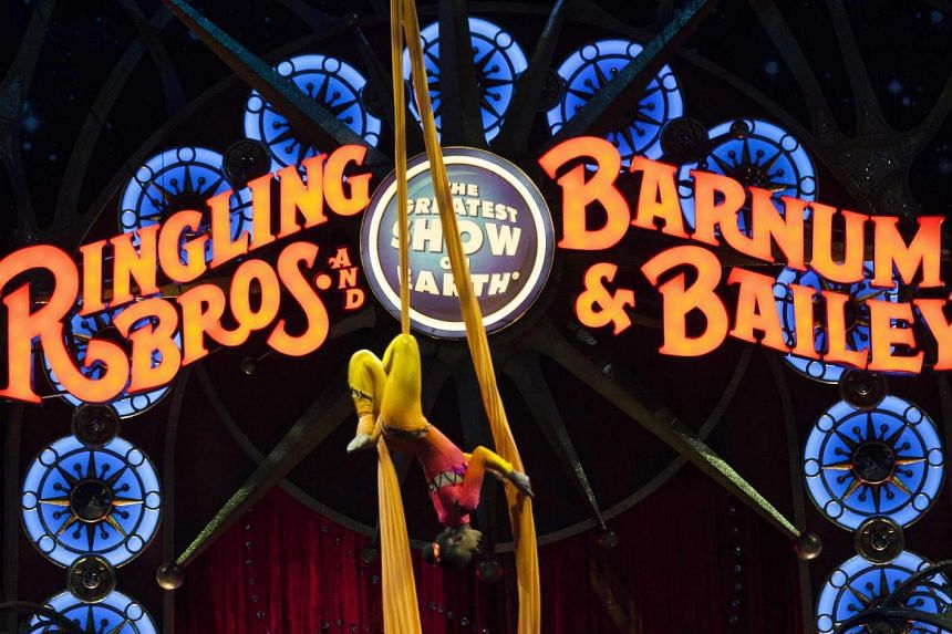 Ringling Bros. and Barnum & Bailey Circus said it would be closing in May.