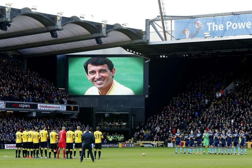 A minute's applause was held before the match in memory of former Watford manager Graham Taylor.