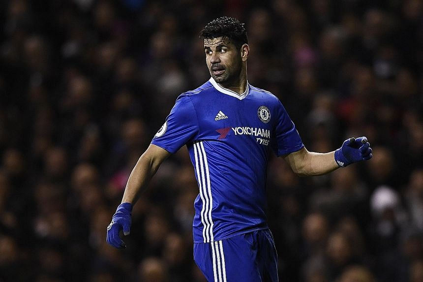 A £30 million (S$52.2 million) annual salary is reportedly being dangled in front of Blues' in-form striker Diego.