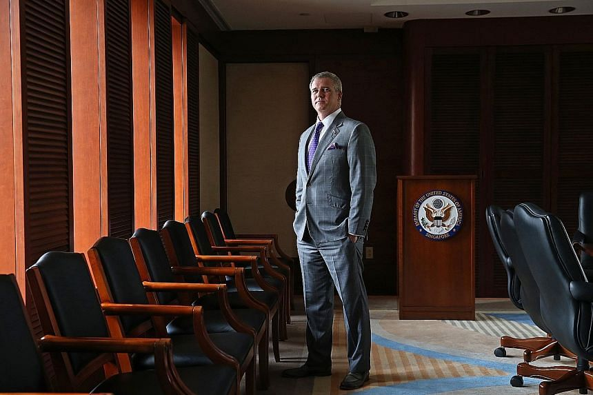 Outgoing United States Ambassador Kirk Wagar, a lawyer by training who was born in Canada, says his 31/2-year tour of duty in Singapore was like doing an MBA or a doctoral thesis on one of the most important regions of the world, expertise that he wa