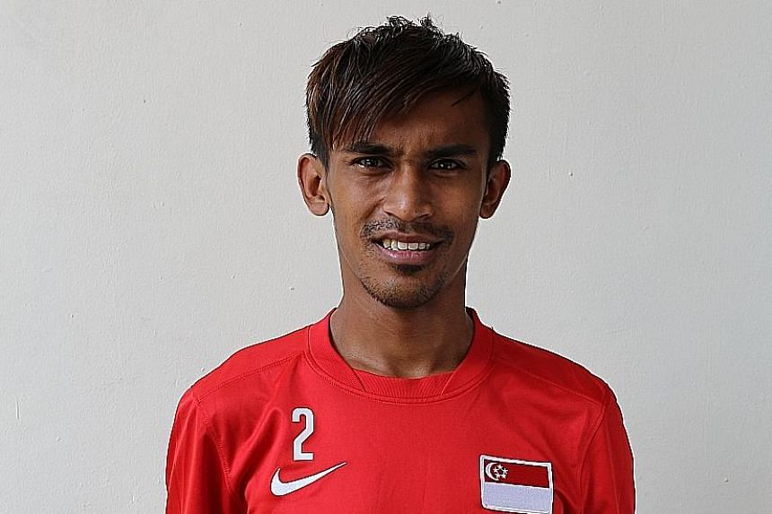 Singapore footballer Shakir Hamzah was arrested as Tampines were preparing to fly out to Malaysia.