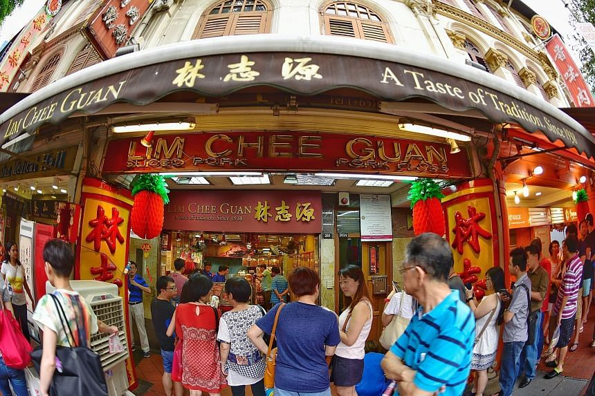 Queues have already started to form at bak kwa stores in Chinatown as people try to lay their hands on the barbecued meat early.