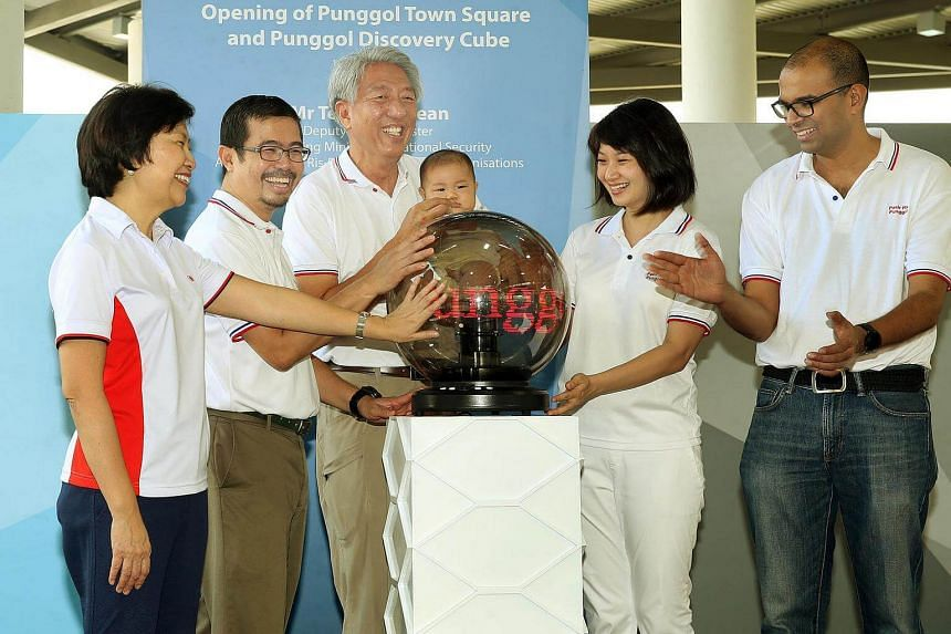 The Punggol Town Square and Punggol Discovery Cube was opened on Jan 15 by DPM Teo Chee Hean.
