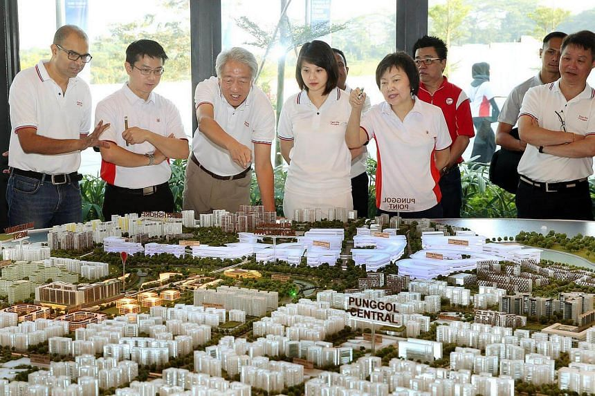 The new Punggol Town Square is set to become a vibrant community space and focal point in Punggol Town Centre.