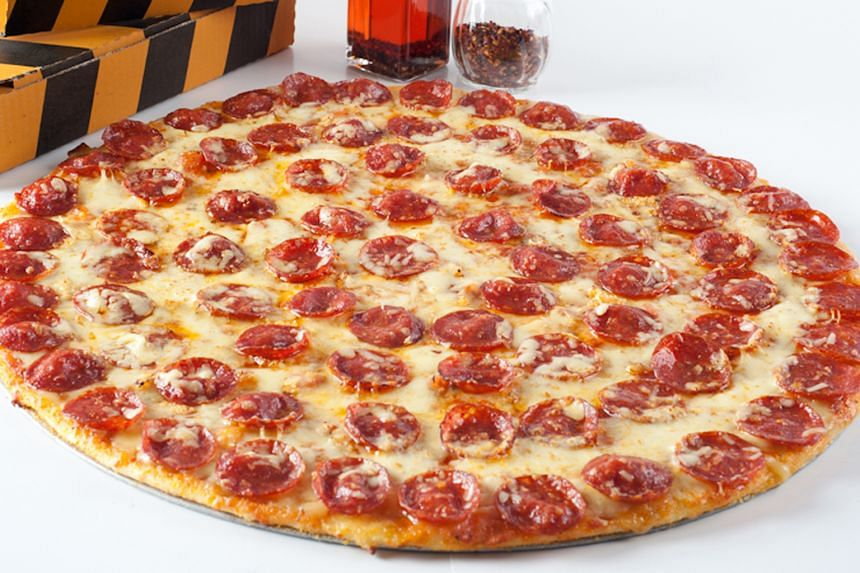NY Classic with pork pepperoni