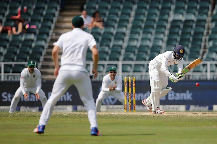 Sri Lanka (above) to meet South Africa in the 3rd Test.