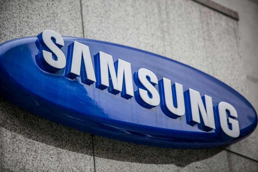 The Samsung logo displayed atop the entrance to a store in Seoul on Jan 13, 2017. The South Korean conglomerate  dismissed on Monday, Jan 16, 2017, the special prosecutors' accusations that its leader, Mr  Jay Y. Lee, paid bribes in 2015.