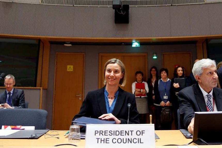 """Federica Mogherini said: """"The European Union will continue to work for the respect and implementation of this extremely important deal, most of all for our security."""""""