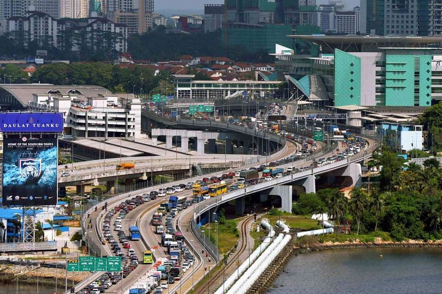 All foreign-registered cars will have to pay a Reciprocal Road Charge (RRC) of $6.40 per entry when they enter Singapore via the Tuas or Woodlands Checkpoint from Feb 15.