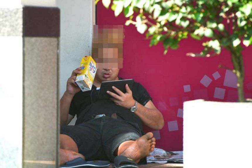 Mr Chen Jinfu, 35, has reportedly lived at Jurong Point for almost four years.