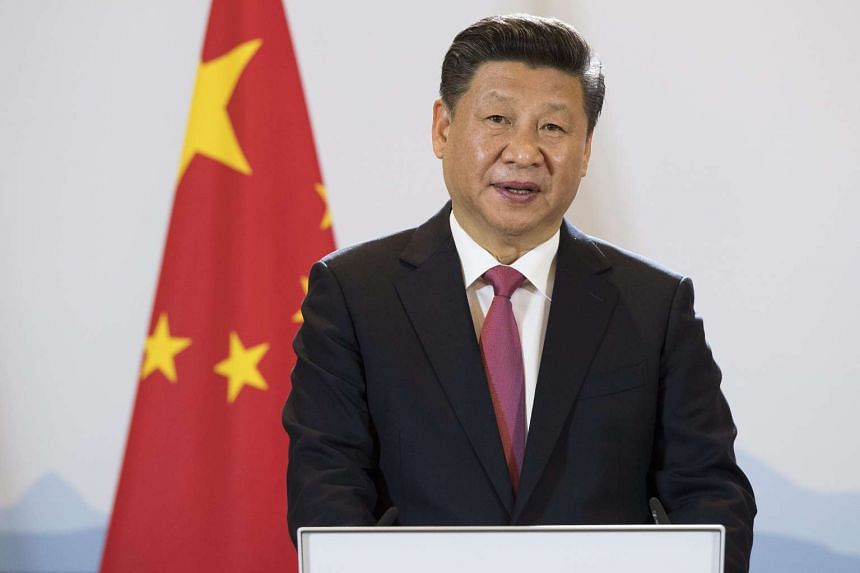 China's President Xi Jinping said its economy will remain stable and keep growing steadily while resisting protectionism.